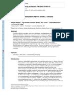 A novel L1 retrotransposon marker for HeLa cell line.pdf