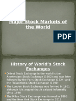 7-Major Stock Markets of the World