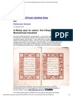 A Malay Spur to Valour_ the Hikayat Muhammad Hanafiah - Asian and African Studies Blog
