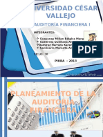 Planeamineto de La Auditoria Financiera