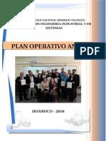 Plan Operativo 2016