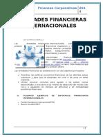 ENTIDADES FINANCIERAS INTERNACIONALES