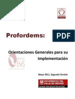 Profoderms - Diplomado Competencias Docentes Bachillerato