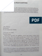Gilles Deleuze - Cartas a Félix Guattari
