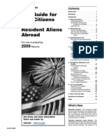IRS Publication 54 - Expatriate Tax Guide