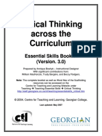 Critical Thinking Across the Curriculum_1409