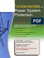 Fundamentals of Power System Protection Seminar