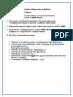 Guía de Configuración de Outlook