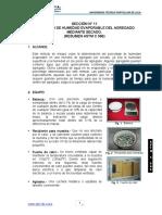 Resumen normas  Astm c 566