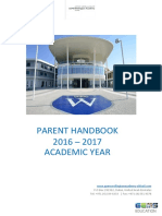 Parent Handbook 2016-2017 New Families