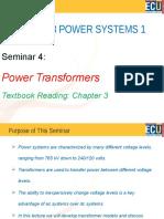 Seminar 4 Power Transformers(1)