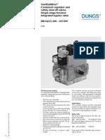 GasMultiBloc Regulador MB-D(LE) 405-412 B07