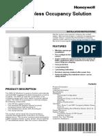 Honeywell WSK-24 Wireless Occupancy Solution