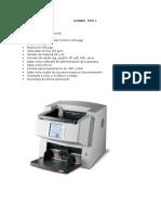 Equipamiento Impresoras y Escaners