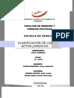 Trabajo Exposicion Acto Juridico