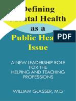 Defining Mental Health