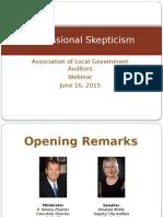 Professional Skepticism 2015 ANoble WEB FULL PRESENTATION