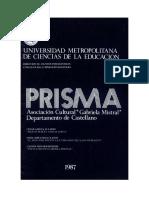 Revista Prisma (1987) Edgardo Ovando y otros  Poesias de Edgardo Ovando