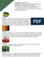 Conheca Os Beneficios de 58 Frutas e Legumes Que Traz à Saude