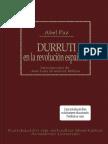 Paz Abel Durruti en La Revolucion Espanola
