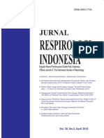 Jurnal Respirologi Indonesia