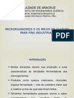 Obtenção de Microrganismos