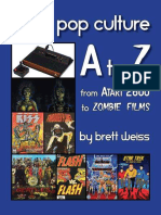Retro Pop Culture a to Z From Atari 2600 to Zombie Films by Brett Weiss