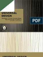 Contoh 7 Prinsip Universal Desain