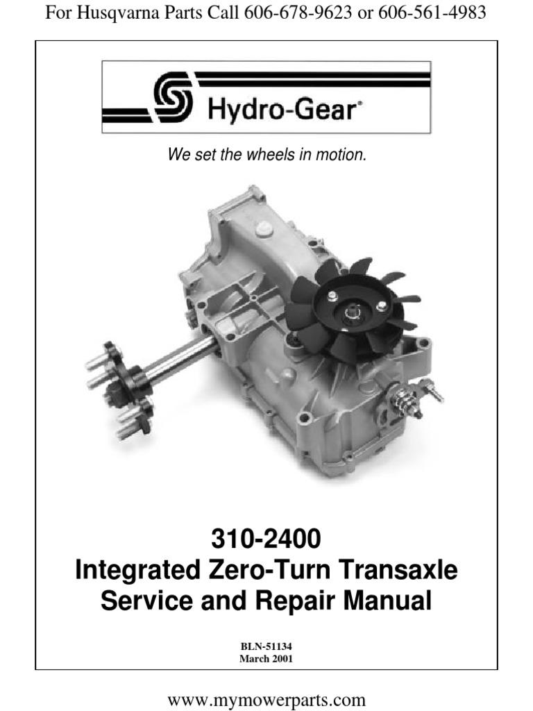 Hydro Gear | Axle | Cylinder (Engine)