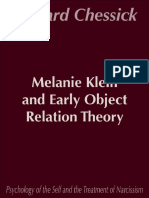 Melanie Klein and Early Object Relations Theory