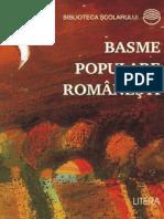 Basme Populare Romanesti (Cartea)