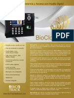 Bio Clock Plus Espanol Brochure
