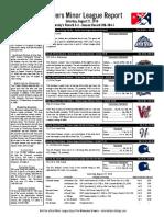 8.27.16 Minor League Report