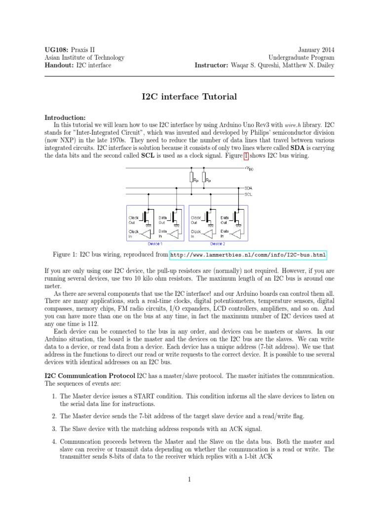 I2c interface tutorial computer data computer engineering baditri Gallery