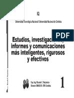 Estudios Investigaciones Informes y Comunicaciones Mas Inteligentes y Rigurosas 1