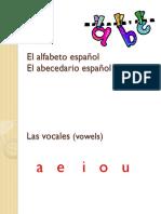 alfabeto - day 2