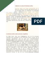 Las ventajas de realizar un curso de lectura veloz.docx