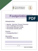 Trabajo Terminado Footprinting