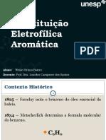 Aula Substituicao Eletrofilica Aromática
