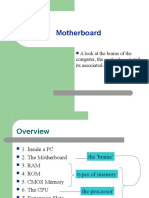 Motherboard Lecture 2