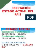 Deforestacion en Colombia