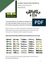 Classic Team Lotus Festival 2010