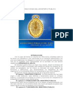 Funciones y Atribuciones Del Ministerio Publico111111