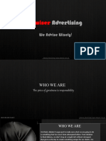 Adwiser Advertising Profile...