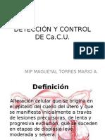 Detección y Control de Cacu