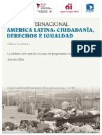 La Ofensiva Del Capital y El Ocaso Del Progresismo en El Mercosur