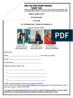 Lake Oconee Basketball Coaches Clinic Brochure