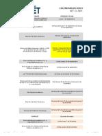 Calendario de Programación de Actividades Docentes