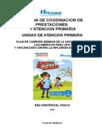 Semana de Vacunacion Las Americas 2016