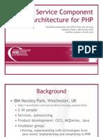 Service Component Architecture for PHP Konferenz 2006 begin end